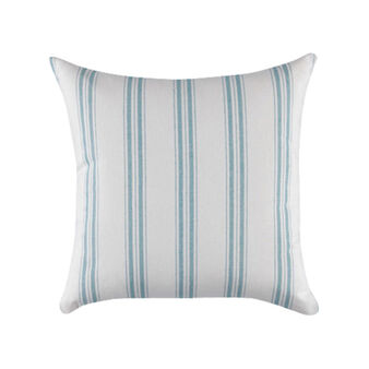 Yarn-dyed cushion in 100% cotton with stripes