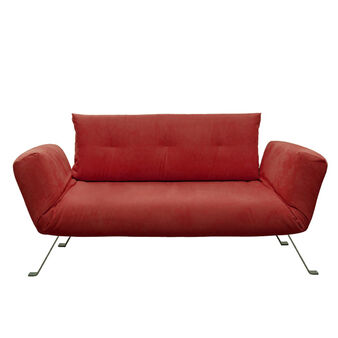 Flower two-seater sofa with removable covers