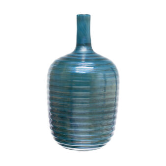 Handmade bottle-shaped vase