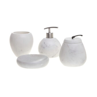 Set bagno marmo tondo