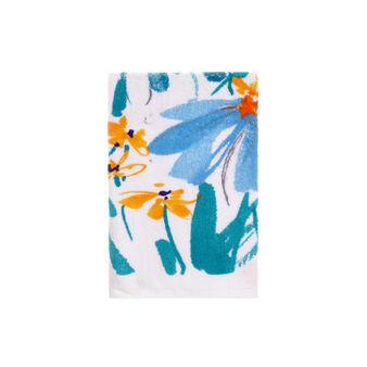 Asciugamano stampa floreale