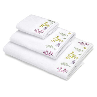 100% cotton terry towel with embroidery