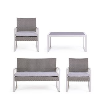 Cargo Set in Synthetic Rattan