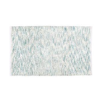 Cotton bath mat with spray pattern