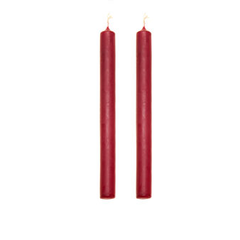 Set 2 candele coniche made in Italy