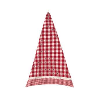Tea cloth with jacquard weave