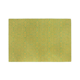 Cotton jacquard rug.