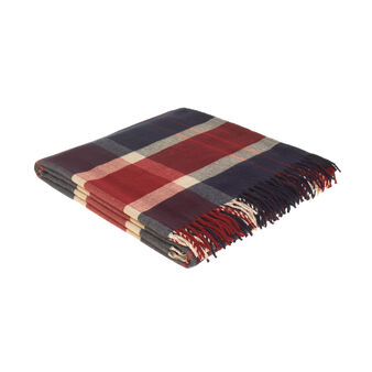 100% cotton maxi tartan bedspread