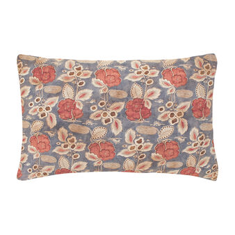 Japanese flowers pillowcase in 100% cotton percale