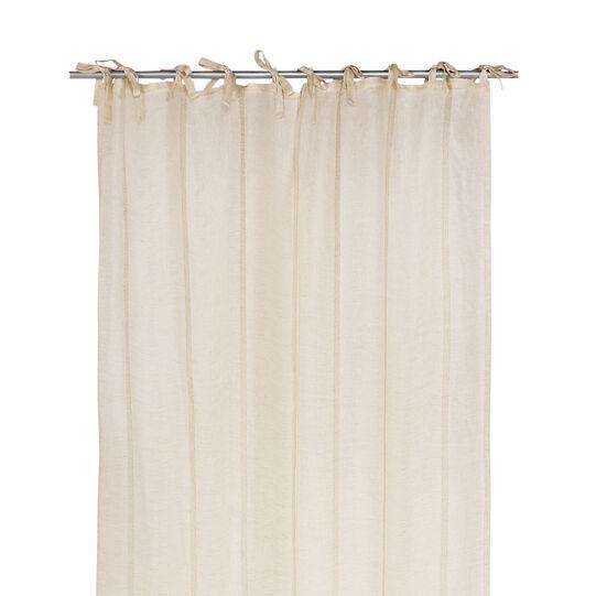 Tenda in puro lino con laccetti coincasa for Tende con laccetti