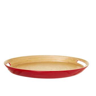 Vassoio ovale in bambù