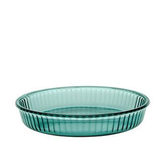 Tortiera in vetro colorato