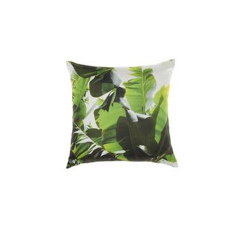 Cotton leaf cushion