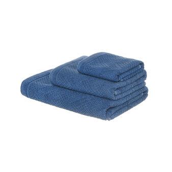 Dip-dye shaded towel