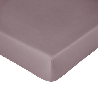 Zefiro cotton percale fitted sheet
