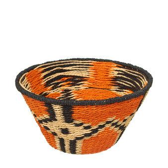 Cesto africano multicolore