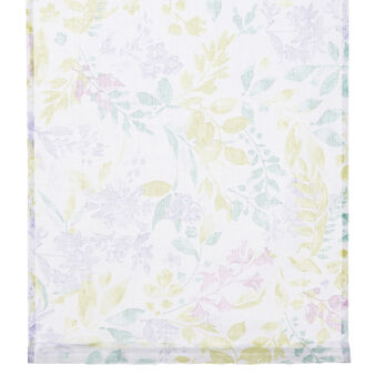 Botanical print curtain