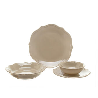 Adele dove grey ceramic table range