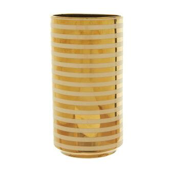 Vaso in ceramica a righe