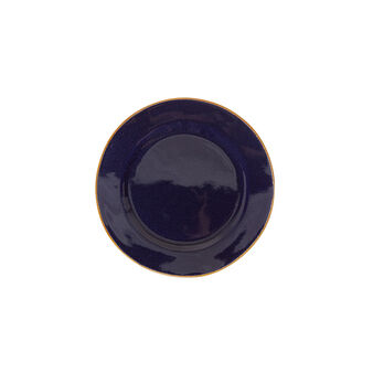George ceramic side plate with contrasting colour rim