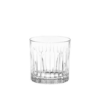 Drinking glass with fluting