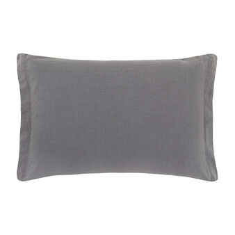 Pillowcase in washed cotton and linen