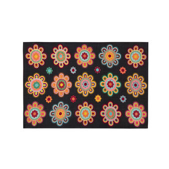 Kitchen mat with Gipsy Flower print