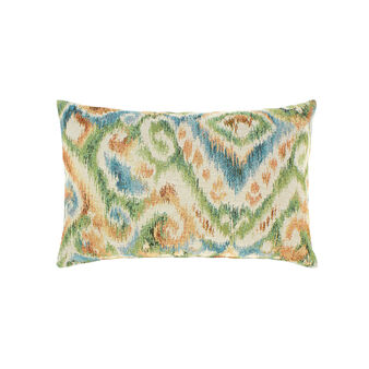 Gobelin design cushion