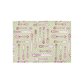 Set 2 tovagliette cotone idrorepellente stampa Diana