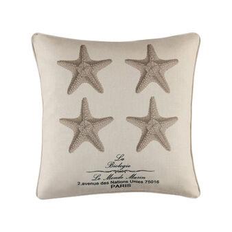 Cuscino stampa stelle marine