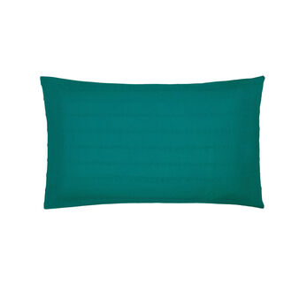 Cotton seersucker pillowcase