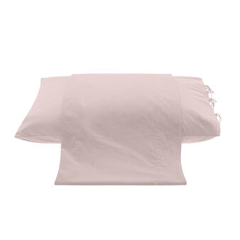 Washed cotton flat sheet