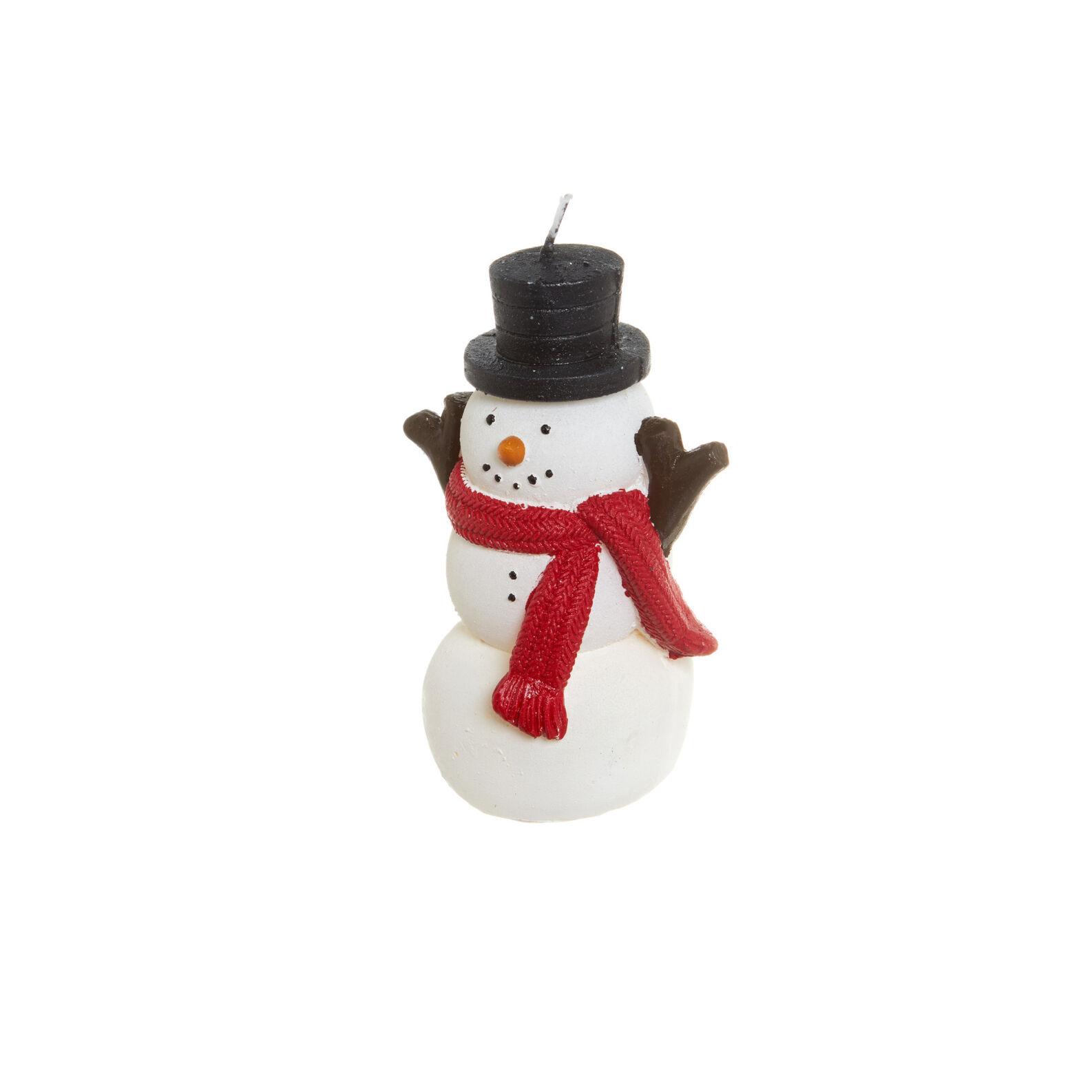 Snowman Candle Coincasa