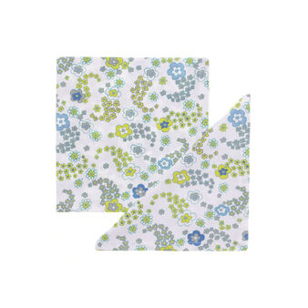 Set of 4 floral napkins