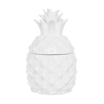 Ceramic pineapple container