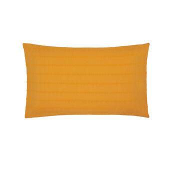 Cotton seersucker pillowcase