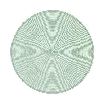 Tovaglietta rotonda in plastica