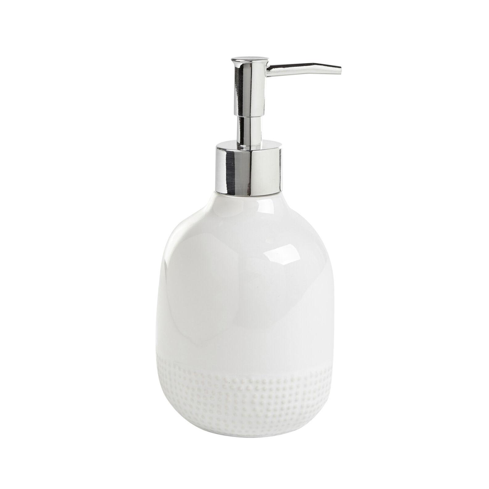 Dots Ceramic Soap Dispenser Coincasa