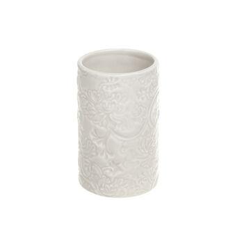 Portaspazzolino ceramica Rose
