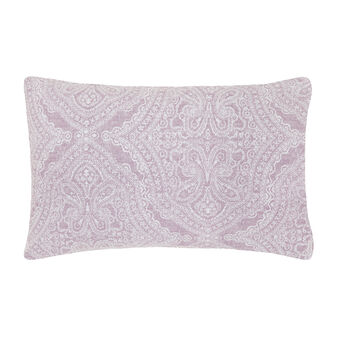 Patterned 100% cotton percale pillowcase