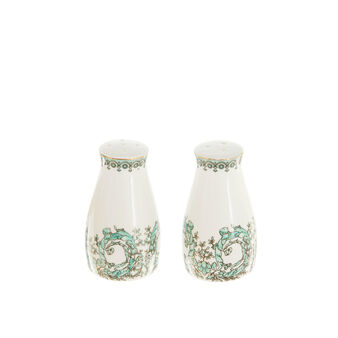 Porcelain salt and pepper set