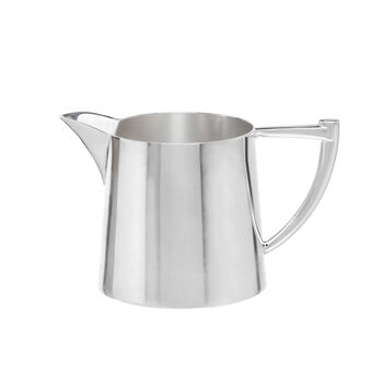 Silver-plated milk jug