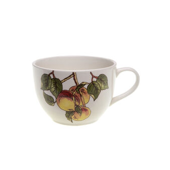 Tea cup with fruit decoration