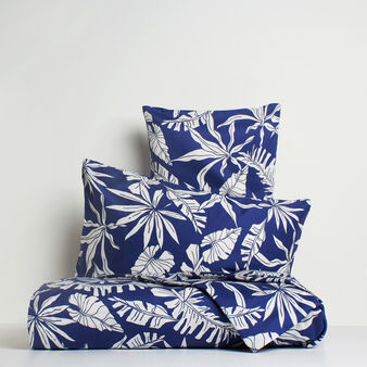 Foliage duvet cover in 100% cotton satin
