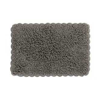 Bath mat with crochet