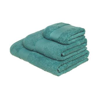 Asciugamano spugna di puro cotone tinta unita Zefiro