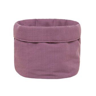 Iridescent cotton basket