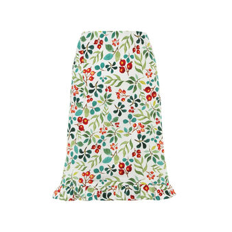 Waist apron with Happy Berries print