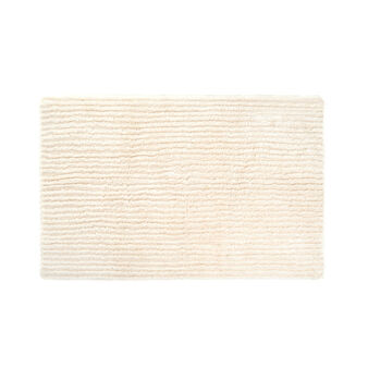 Tufted cotton bath mat