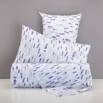 Parure copripiumino puro cotone percalle lavanda